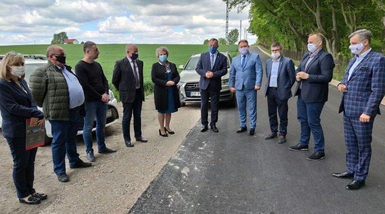 Gmina Wolbórz: Droga Lubiatów - Będków gotowa