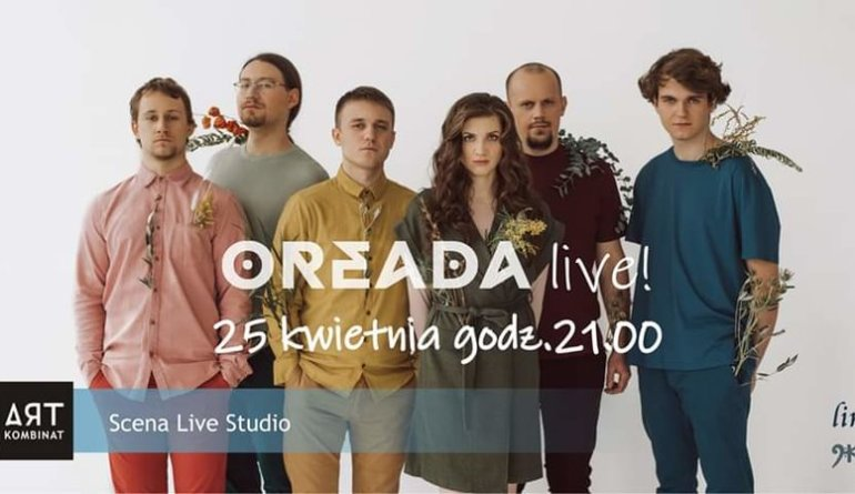 OREADA zaprasza na koncert online