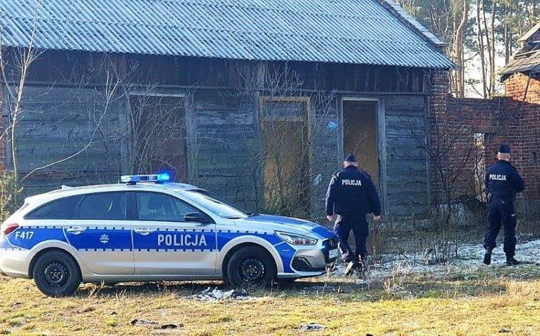 Policjanci sprawdzą miejsca, gdzie zimą przebywają bezdomni