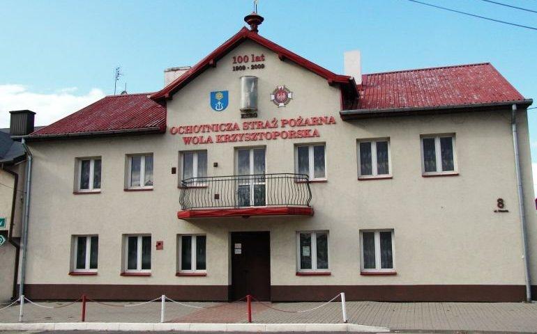 Dom Ludowy w Woli Krzysztoporskiej będzie przebudowany