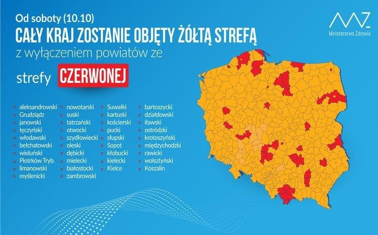 Od soboty cała Polska
