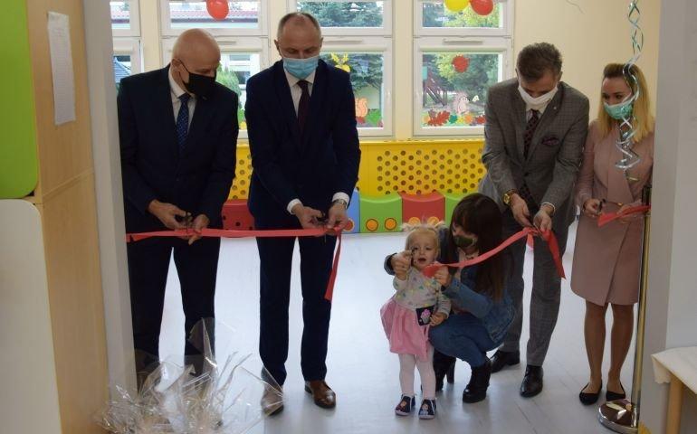 Uroczyste otwarcie Klubu Malucha w Czarnocinie