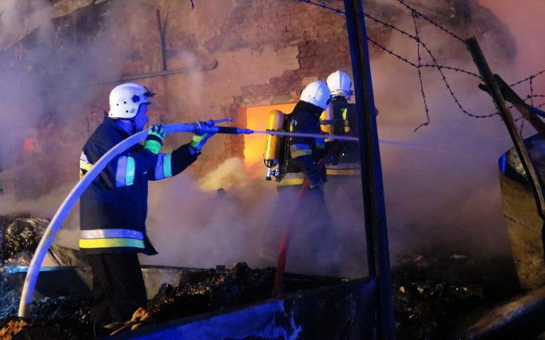 Więcej pożarów, więcej wypadków na drogach. Strażacy podsumowują rok 2019
