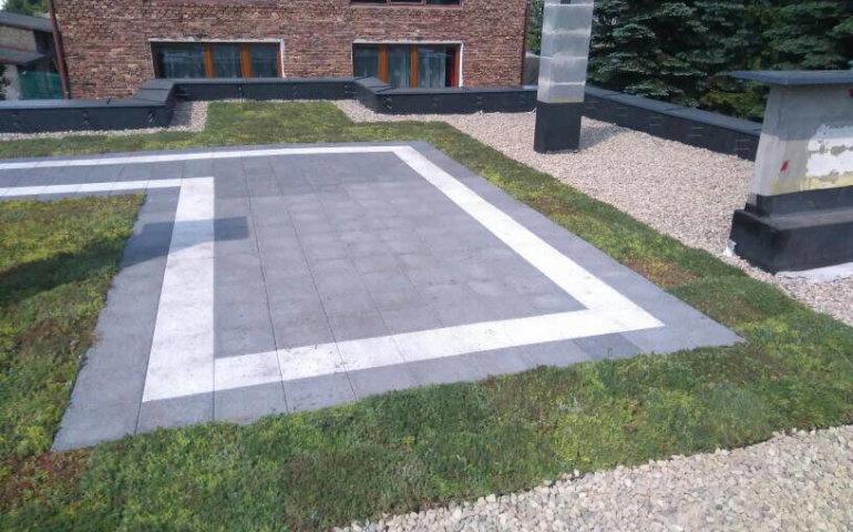 Trawnik na dachu — nowy trend?