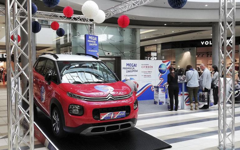 Losowanie auta w Focus Mall