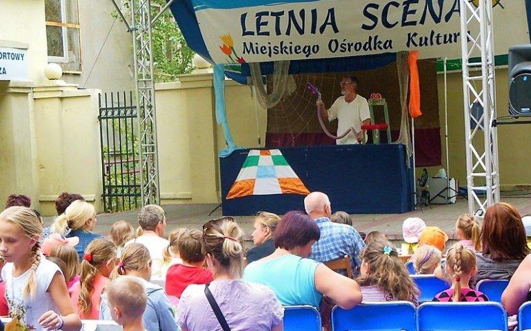 Sierpniowe letnie teatrzyki w MOK